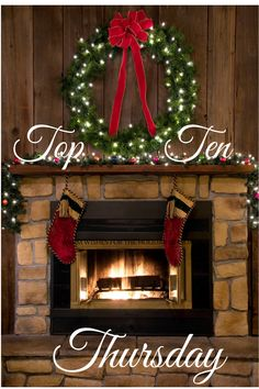 Top Ten Thursday - Christmas Songs