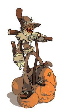 Scarecrow Jones by Lysol-Jones on DeviantArt Game Character Design, Fantasy Character Design, Character Design References, Character Creation, Character Drawing, Character Design Inspiration, Character Concept, Game Concept, Desenhos Halloween