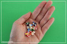 Mammabook: perline a forma di casetta - mini-house beads