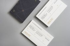 Identity / Route in Business Cards