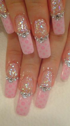 I don't like the length and I'd love it if it was just the sparkles!