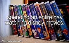 Disney movies. I do this all the time, I have 3 kids!