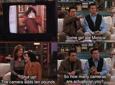 Some girl ate Monica! #friends