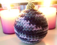 Two Girls Being Crafty: Day 11: Crocheted Snow-Covered Ornaments with Winkieflash of A Creative Being