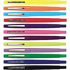 Best revision/marking pens around! http://www.staples.ca/en/Papermate-Flair-Felt-Tip-Pens/product_SS2006128_2-CA_1_20001