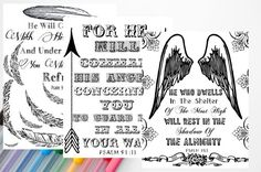 Set of 3 Psalm 91 Coloring Sheets Bible by OurHeartsRejoice Psalm 91 11, Psalms, Coloring Sheets, Journaling, Bible, Bullet Journal, Etsy, Biblia, Colouring Sheets