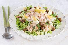 Colorful Fruit, Delicious Vegan Recipes, Couscous, Pasta Salad, Potato Salad, Salads, Mango, Beans, Food And Drink