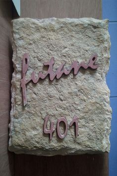 Our company designs name plates on stones through carving by giving it a different design and durability. A good name plate is the perfect style statement you want to make and we are here to give you that additional touch of royalty to your dream #house