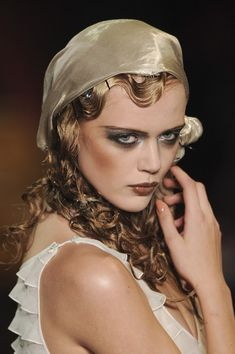 Frida Gustavsson, John Galliano S/S 2011, Paris Fashion Week