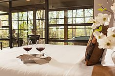 Iris Inn in Virginia. Great place to treat a Mom in one of their new lux cabins or their very special inn rooms. http://www.irisinn.com/cabins.html