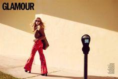 Marloes Horst Channels Her Inner 1970s Bombshell for Glamour Spain