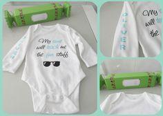 Body para bebé personalizado. Envoltorio de caramelo (video explicativo)