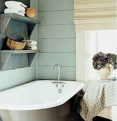 Dreamy... I've wanted a claw foot tub since I was 6 at my best friend's house