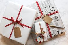 Honestly Sarcastic: Holiday Wrapping on a Budget