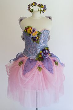Hey, I found this really awesome Etsy listing at https://www.etsy.com/listing/202623967/adult-fairy-costume-size-xl-wildflower
