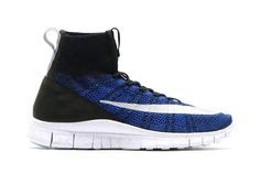 9db846618cb First image of the football inspired Nike Free Mercurial Superfly Racer  Blue. Coming soon.