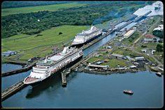 Canal de Panamá es muy grande y viejo