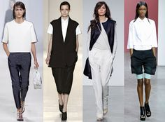 New York Fashion Week Spring 2014 Trends - Boyish Cuts