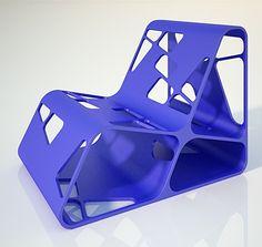 Amorph Chair Design by Antoaneta Yordanova