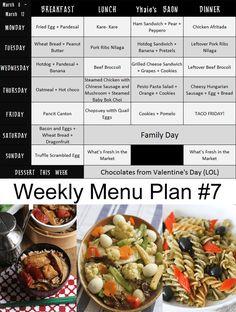 Hey I'm back in making weekly menu plans.and here's Weekly Menu Plan Weekly Meal Plan Family, Monthly Meal Planning, 7 Day Meal Plan, Meal Prep For The Week, Keto Meal Plan, Healthy Breakfast Menu, Healthy Menu, Clean Diet, Clean Eating