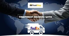 Now get quick delivery with FedEx All orders on www.trustshop.in are processed through our shipping partner FedEx, so that u dont have to wait for long.