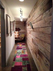 r aliser un mur en bois de palette palettes pas laides pinterest bricolage. Black Bedroom Furniture Sets. Home Design Ideas