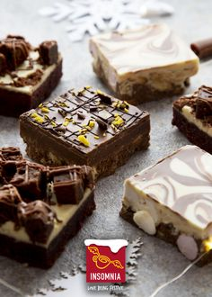Delicious Christmas Treats... Chocolate Orange Tiffin, Red Velvet Brownie, Double Decker Rocky Road Red Velvet Brownies, Rocky Road, Chocolate Orange, Christmas Treats, Product Launch, Desserts, Food, Tailgate Desserts, Deserts