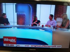 Katherine appearing on Channel 5's The Wright Stuff on Monday 5th August