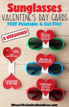 Race Car Valentine's Day Cards with Free Printable! Race Car Valentine's Day Cards with Free Printable!,Valentine's Day These are so cute and so simple! Love the free printable too! Sunglasses Valentine's Day Cards with. Kinder Valentines, Valentine Gifts For Kids, Valentines Diy, Preschool Valentine Ideas, Preschool Gifts, Preschool Bible, Valentine Treats, Valentine Decorations, Valentinstag Party