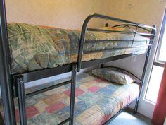 Small bunk room in Studio Plus Unit, Cosy Corner Holiday Park, Mt Maunganui, NZ