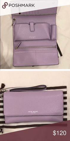 48bab0b5e1 Henry Bendel uptown wallet wristlet Easily fits IPhone X. Brand new
