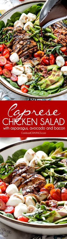 Salad Bar on Pinterest | Salads, Avocado and Spinach Salads