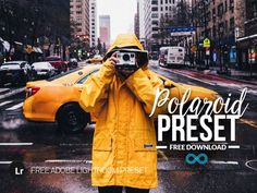 Free Polaroid Instant Film Lightroom Preset by Photonify Film Photography, Street Photography, Free Cosplay, Instant Film Camera, Lightroom Presets, Color Pop, Photo Editing, Vintage, Photo Manipulation