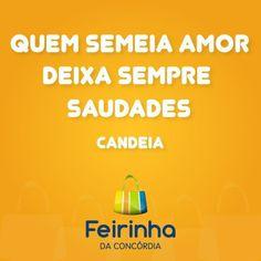 #frases #melhorfeirinhadobrás #Candeia #Saudades
