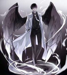 Manhwa, Dark Anime Guys, Art Et Illustration, Doja Cat, Drawing Reference Poses, Manga Boy, Handsome Anime, Boy Art, Light Novel