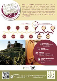 Un nuovo servizio per tutti i turisti in arrivo da ogni parte del mondo per godere della bellezza e delle eccellenze enogastronomiche delle colline piemontesi di Langhe e Roero: è il Langhe Sightseeing Tour. #news #italia #bus #langhe #sightseeing #tourlanghe #travel  #UNESCO #piemonte #Alba #Barolo