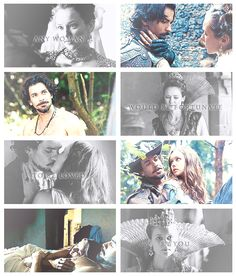 Any woman would be Fortunate to be loved by you -Anne to Aramis