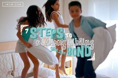 Your kids benefit from a strong sibling bond. Learn how to encourage closeness between your kids.