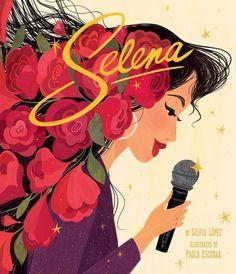 Queen of Tejano Music: Selena Books For Boys, Childrens Books, Ya Books, Bee Book, Mighty Girl, Hispanic Heritage Month, Girl Empowerment, Selena Quintanilla, Italian Artist