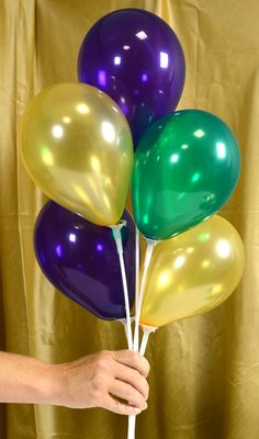Arrange balloons