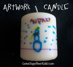 Come Together Kids: Artwork Candles