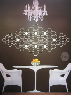 HEX WALL DECOR BY WALLTER