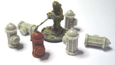 FGSF03 - Fire hydrants