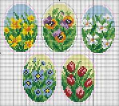 Пасхальная вышивка. Easter Cross Stitch