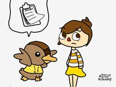 Fanart Animal Crossing New Leaf - Molly e Amandoin