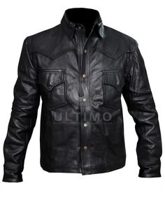 The Walking Dead Governor Classical Black Leather Jacket  The Walking Dead governor jacket is just what fans of this hit TV series asked for, and now they can get it right here at Ultimo Fashions. The governor, as played by actor David Morrissey, is a favorite character for many, but far from