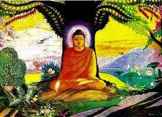 Megvilágosodás (Enlightment)  Forrás: http://www.beyondthenet.net/buddha/gallery/desc6a.htm