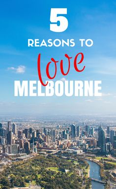 Melbourne is a steaming melting pot of cultures from around the world. The weather is unpredictable and can be down right horrid at times, but it's still easy to see why people fall in love with Melbourne. After all, we did.