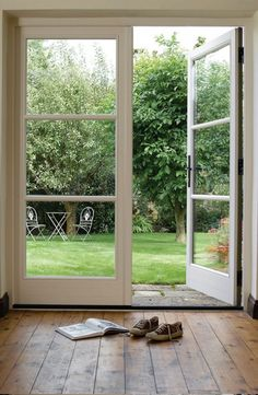 french doors \ french doors ` french doors patio ` french doors interior ` french doors bedroom ` french doors to deck ` french doors living room ` french doors with screens ` french doors patio exterior Aluminium French Doors, Bifold French Doors, Double French Doors, Wooden Bifold Doors, French Doors Bedroom, French Doors Patio, Exterior French Doors, Double Patio Doors, Wooden Patio Doors