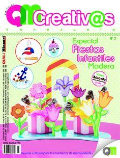 #Revista QMCreativ@s Especial de Fiestas Infantiles #Madera www.minauri.com